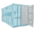 Skizze Container
