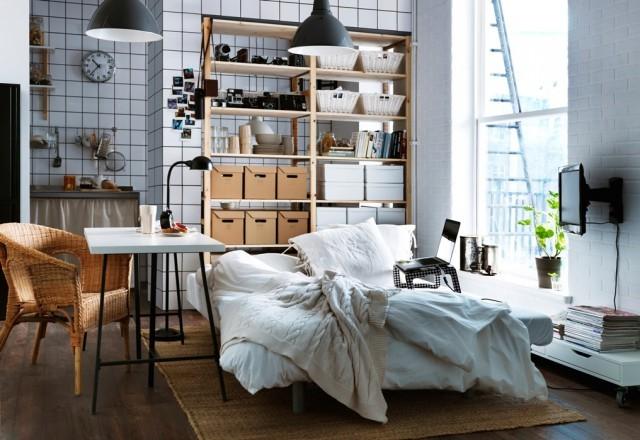 Möbel einer 30 m² Wohnung